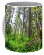 Forest Floor Of Hoh Rain Forest Coffee Mug