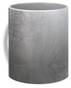 Forest Fog Reflection Coffee Mug