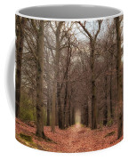 Forest Lane Near Maarsbergen Coffee Mug