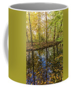 Forest Leaf Reflection Coffee Mug
