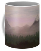 Forest, Mist, And Mountains Coffee Mug