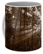 Forest Mist B And W Coffee Mug