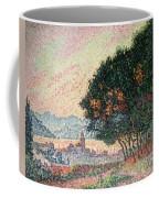Forest Near St Tropez Coffee Mug