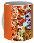 Forest Of Fall Colors Coffee Mug