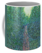 Forest Of Green And Blue Coffee Mug