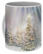 Forest Of Trees In The Light Coffee Mug