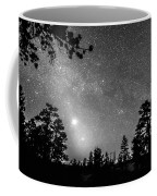 Forest Silhouettes Constellation Astronomy Gazing Coffee Mug