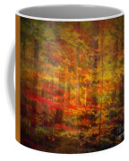 Colorful Forest, Smoky Mountains, Tennessee Coffee Mug