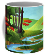 Forest Stream - Through The Forest Series Coffee Mug