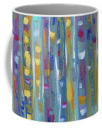 Forest Through The Trees, Abstract Art Coffee Mug