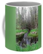 Forest Trees Creek Pathway Coffee Mug