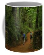 Forest Walkers, El Camino, Spain Coffee Mug