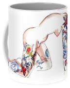 Forever Amber - Tattoed Nude Coffee Mug