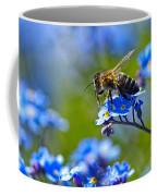 Forget Me Not Bee 2 Coffee Mug