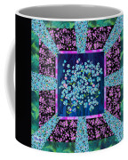 Forget Me Nots Fabric By Clothworks Coffee Mug