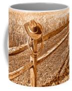 Forgetting Texas - Sepia Coffee Mug