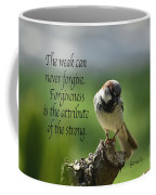 Forgiveness Coffee Mug