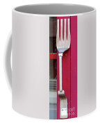 Fork Door Handle Coffee Mug