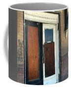 Former Waiting Room Doors Coffee Mug