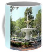 Forsyth Park Fountain Square Coffee Mug