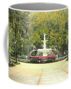Forsyth Park Savannah Coffee Mug