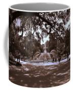 Forsyth Park Sepia Coffee Mug
