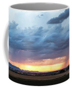 Fort Collins Colorado Sunset Lightning Storm Coffee Mug