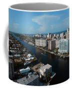 Fort Lauderdale Aerial Photography Coffee Mug