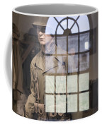 Fort Macon Through Glass Coffee Mug