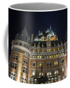 Fort  Of Quebec City At Night Coffee Mug