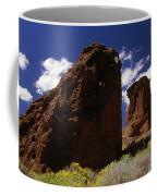 Fort Rock Twin Towers- H Coffee Mug
