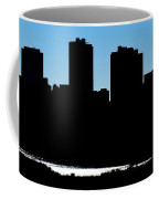 Fort Worth Silhouette Coffee Mug