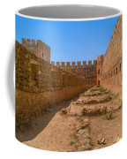 Fortress In Frangokastello Coffee Mug