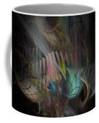 Fortune Willing - Fractal Art Coffee Mug