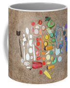 Found Items Rainbow Coffee Mug