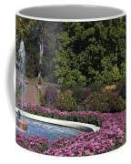 Fountain And Mums Coffee Mug