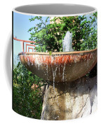 Fountain At Taliesen Coffee Mug