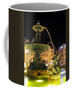 Fountain In Rossio Square Coffee Mug