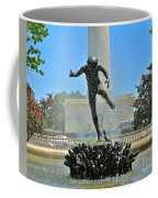 Fountain In Spring Coffee Mug