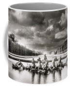 Fountain With Sea Gods At The Palace Of Versailles In Paris Coffee Mug