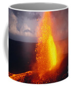 Fountaining Kilauea Coffee Mug