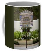 Fountains At The Getty Villa Coffee Mug