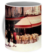 Fouquets Of Paris 1955 Coffee Mug