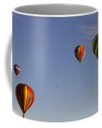 Four Balloons Prosser Balloon Festival  Coffee Mug