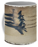 Four Blues Coffee Mug