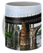 Four Bridges Of East Falls Coffee Mug