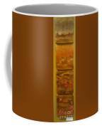 Four Brown Panels Coffee Mug