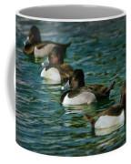 Four Ducks In A Row Coffee Mug