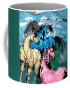 Four Horses Coffee Mug