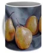 Four Pears Coffee Mug